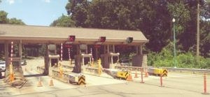 Forsage like Smart Contracts for Virtual Toll Booths